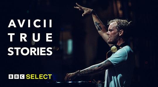 DJ Avicii performing