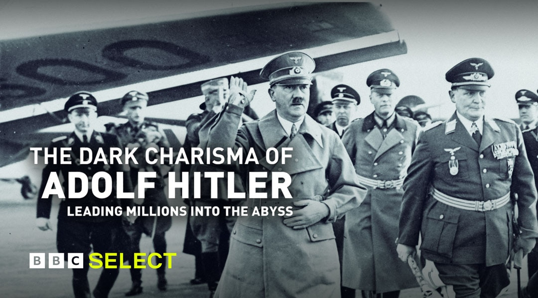 Adolf Hitler surrounded by fellow soldiers