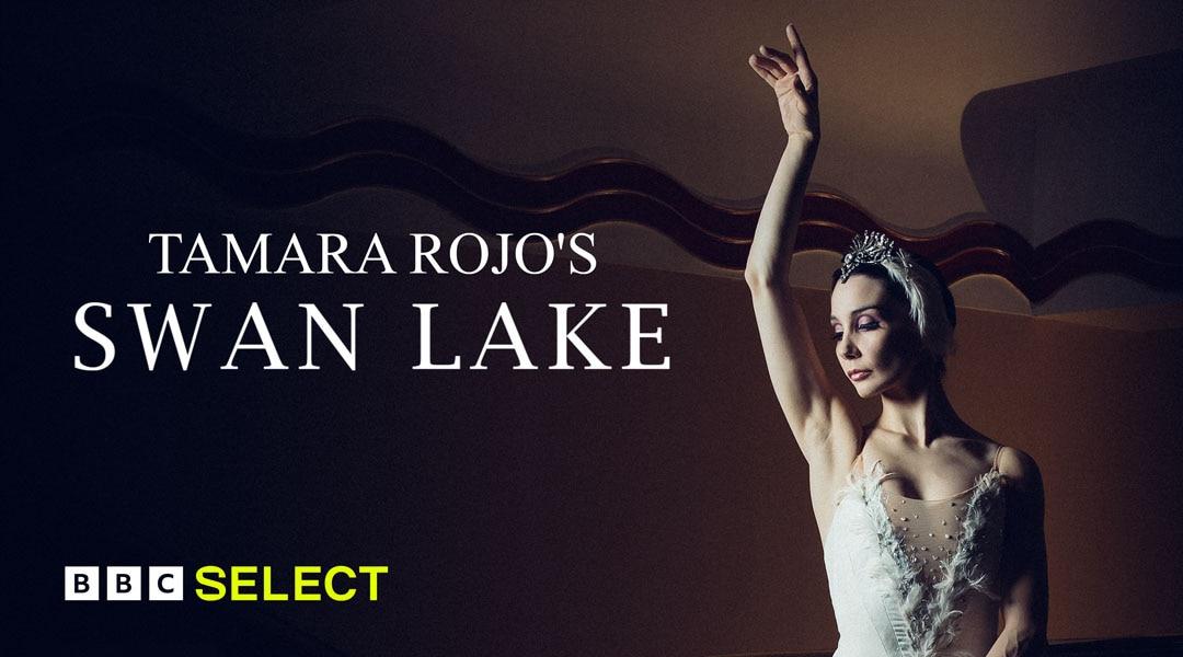 Tamara Rojo dances as a swan